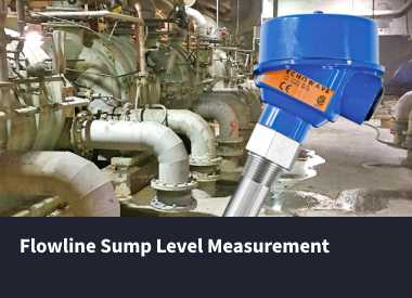 Sump LEvel Measurement with Flowline Products case study