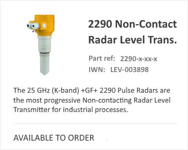 GF SIGNET 2290 Radar Level Switch