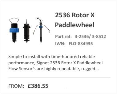GF SIGNET 2536 Paddlewheel Flow Meter