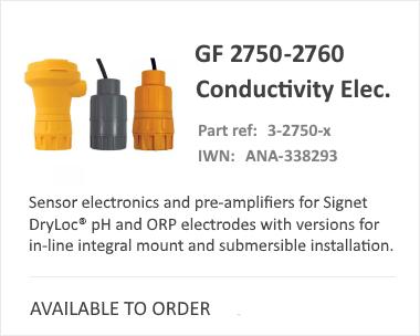 GF SIGNET 2750-2760 Range | Analytical Sensor