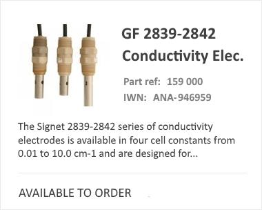GF SIGNET 2839-2842 Range | Analytical Sensor
