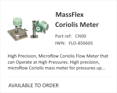 OVAL Massflex Flow Meter