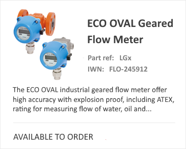 OVAL Positive Eco Flow Meter