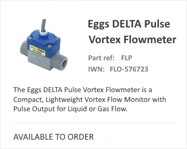 OVAL Eggs Delta Pulse Vortex Flow Meter