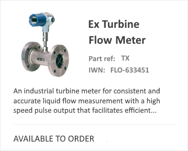 OVAL Turbine Flow Meter