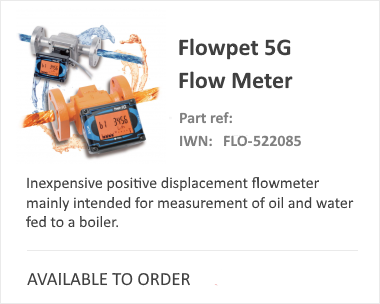 OVAL 5G Positive Displacement Flow Meter