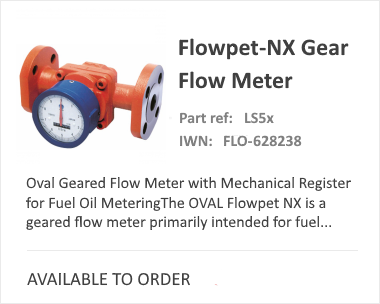 NX Flow Meter from OVAL