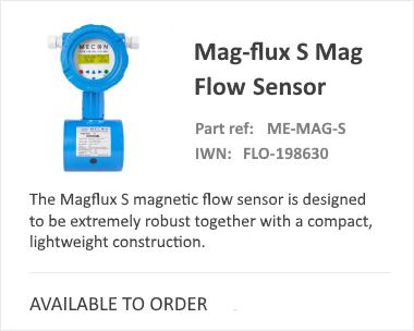 Mecon MagFlux S Series Magnetic Flow Meter