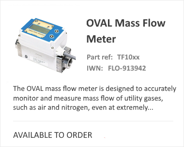 OVAL Mass Flow Meter