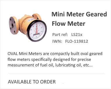 OVAL Mini | Compact Flow Meter