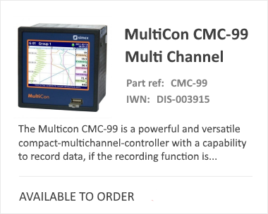 MultiCon 99 Display and Logger