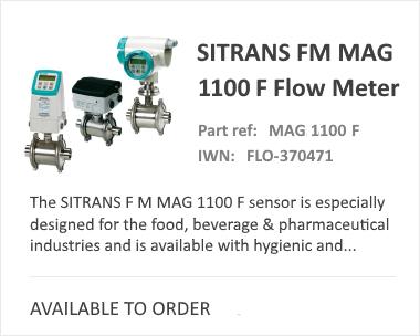 Siemens Sitrans Mag 1100 Flow Meter