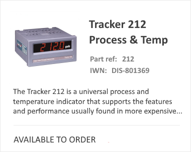 iCenta Display and Logger Tracker 212
