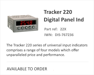 Tracker 220 Series Batch Controller from iCenta
