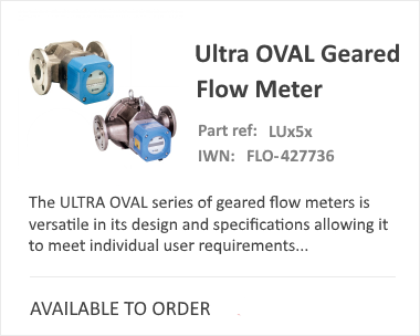 OVAL Ultra Flow Meter
