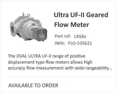 OVAL Ultra UF Flow Meter
