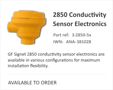 SIGNET 2850 Analytical Sensors