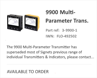 9900 Multi Parameter Transmitter | Analytical Sensors