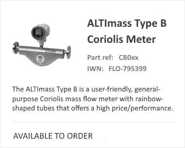 OVAL Type B Coriolis Meter