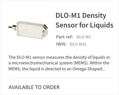 DL0-M1 TrueDyne Density Sensor for Liquids