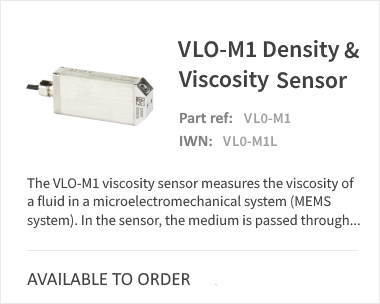 VLO-M1 Density and Viscosity Sensor for Liquids