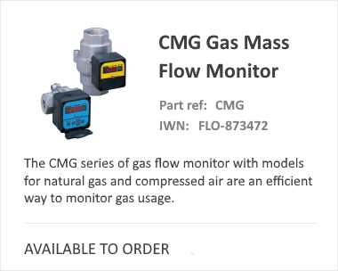 iCenta CMG Gas Mass Flow Meter