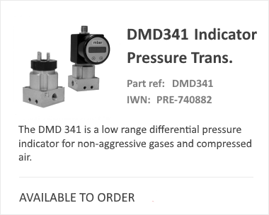 DMD341 Pressure | Indicator Switch