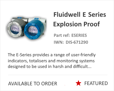Fluidwell E Series Flow Monitor