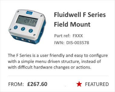 Fluidwell F Series Pressure Switch