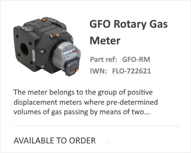 GFO Rotory Gas Flow Meter