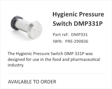DMP Hygenic Pressure Switch