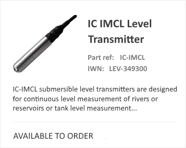 iCenta Controls IMCL Level Transmitter