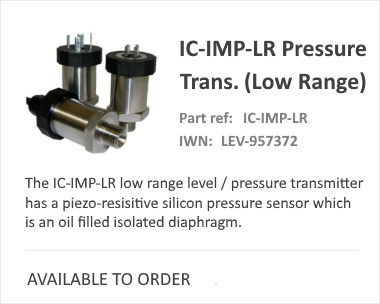 iCenta IC IMP LR Pressure Switch