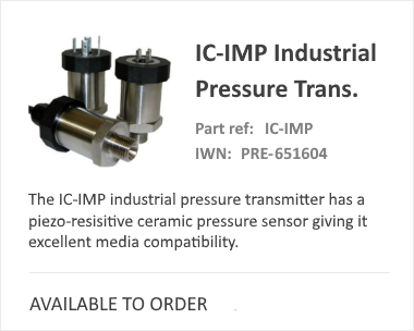 iCenta Controls IMP Pressure Switch