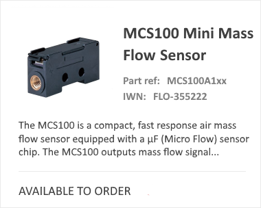MCS 100 Thermal Mass Flow Meter