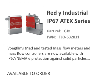 Red-Y Industrial Thermal Mass Flow Meter