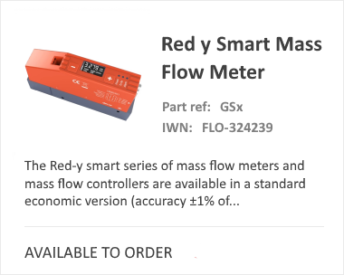 Voegtlin Red-Y Smart Mass Flow Meter