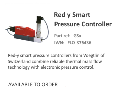Red-Y Smart Pressure Thermal Mass Flow Meter