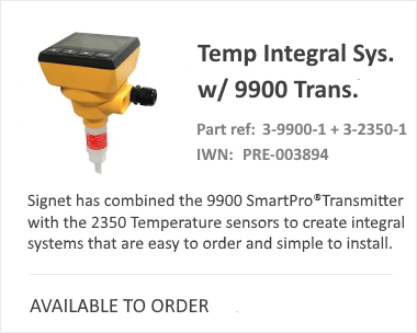 SIGNET Temperature System 9900 Pressure Switch