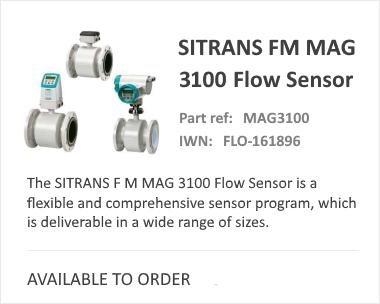 Siemens Magnetic Flow Sitrans MAG 3100
