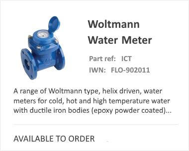 iCenta Woltmann water meter