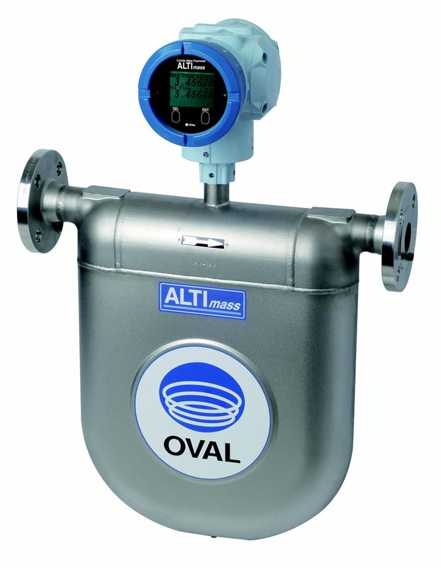 ALTImass Type U Coriolis Flow Meter from OVAL